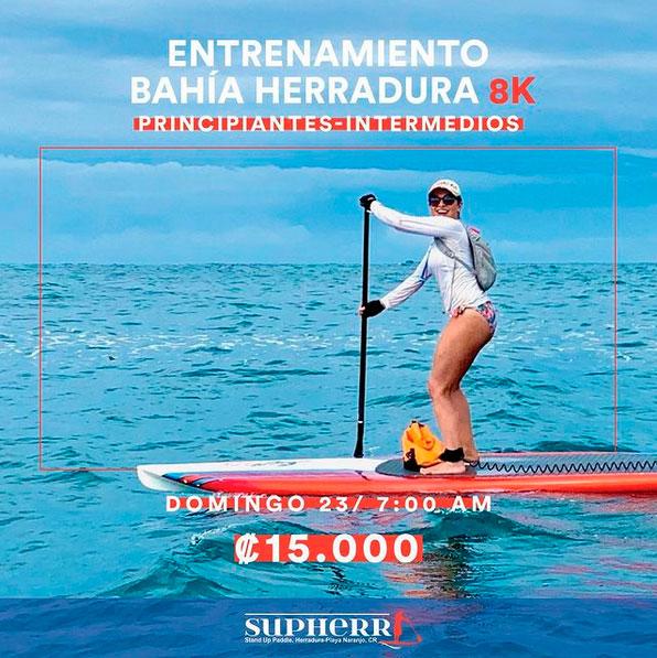 Entrenamiento Bahía Herradura 8K
